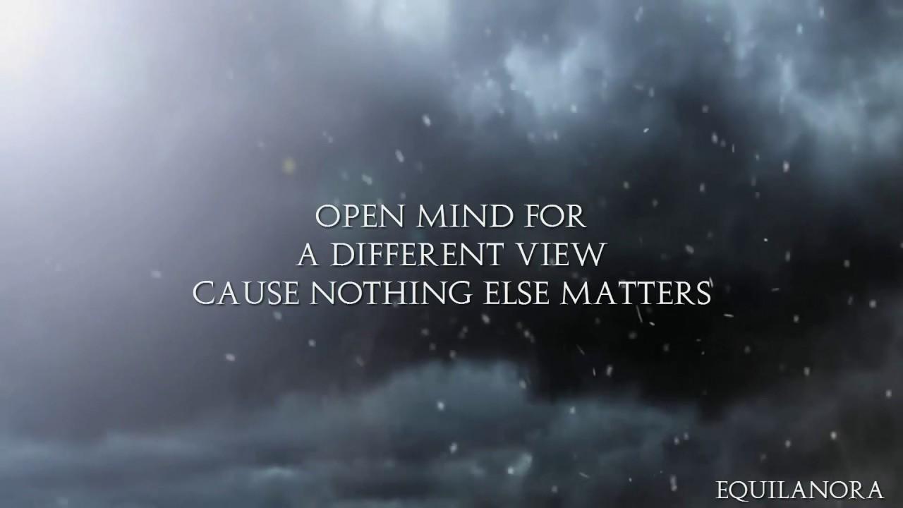 marlisa nothing else matters lyrics youtube