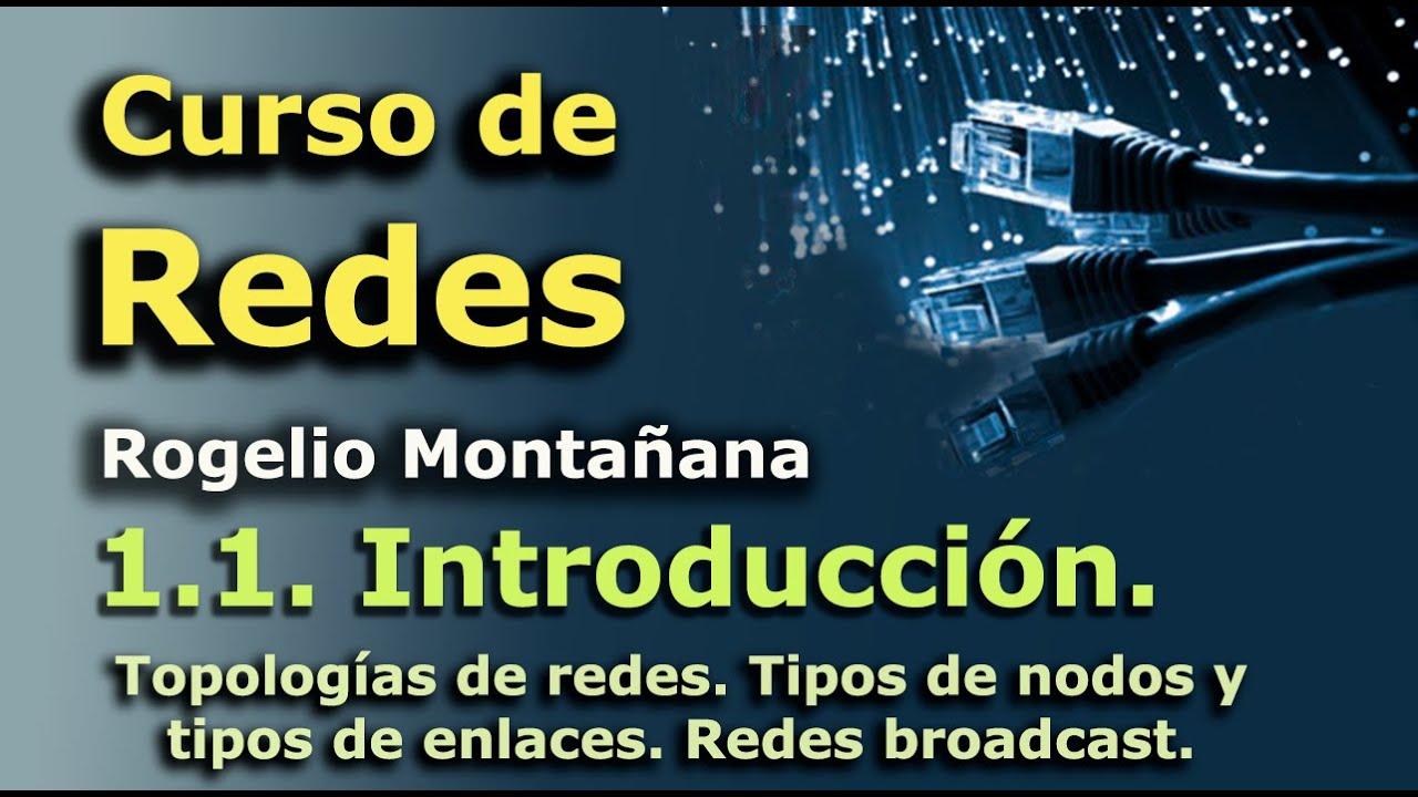 Download Curso de Redes. 1.1. Introducción. Conceptos básicos. Redes informáticas y telemáticas.