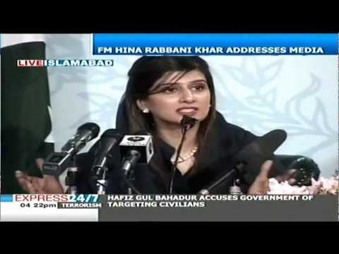 Hina Rabbani Khar: Competing with India on positivity
