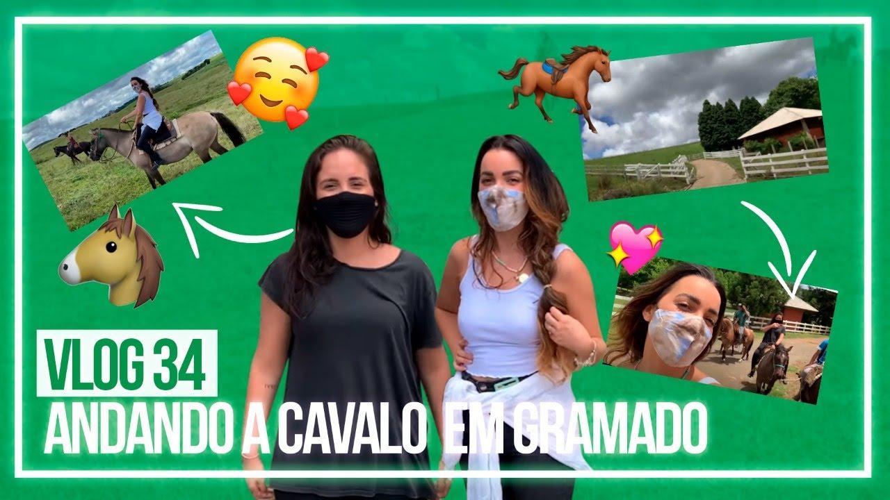 VLOG #34 - ANDANDO A CAVALO (GRAMADO)
