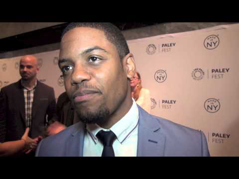 Elementary : Jon Michael Hill on the Red Carpet