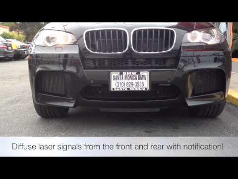 NEW! Escort 9500ci Radar Custom Install BMW X5M How to avoid speeding tickets!