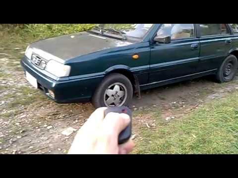 Bardzo dobry Polonez - Odpalanie z pilota - YouTube WK48