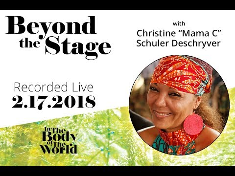 "Beyond the Stage with Christine ""Mama C"" Schuler Deschryver - 4th Talkback"