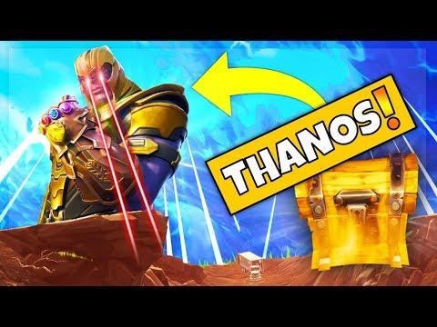 NEW THANOS INFINITY GAUNTLET LTM GAMEPLAY! (Fortnite Avengers Game Mode)