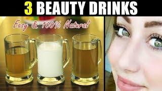 Beauty Drinks for Whitening, Glowing & Fair Skin 100% Natural & Effective