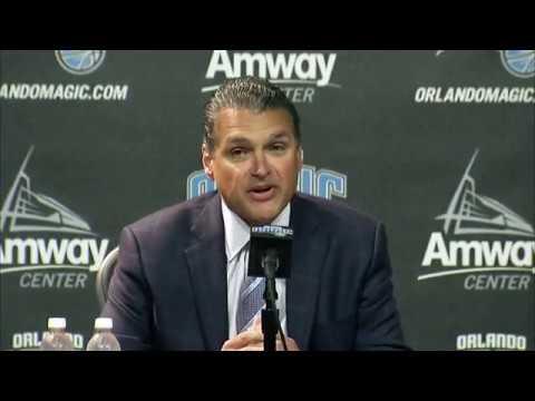 Orlando Magic CEO Alex Martins full press conference 04/13/2017