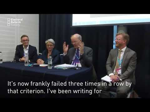Prof John Curtice – First Past the Post and Single Party Government