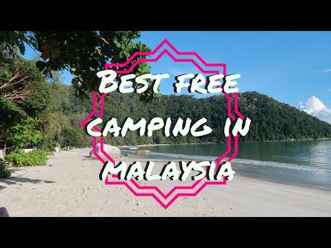 BEST FREE CAMPING IN MALAYSIA | TRAVEL VLOG
