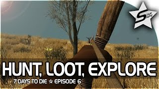 7 days to die xbox one gameplay part 6 hunting looting exploring