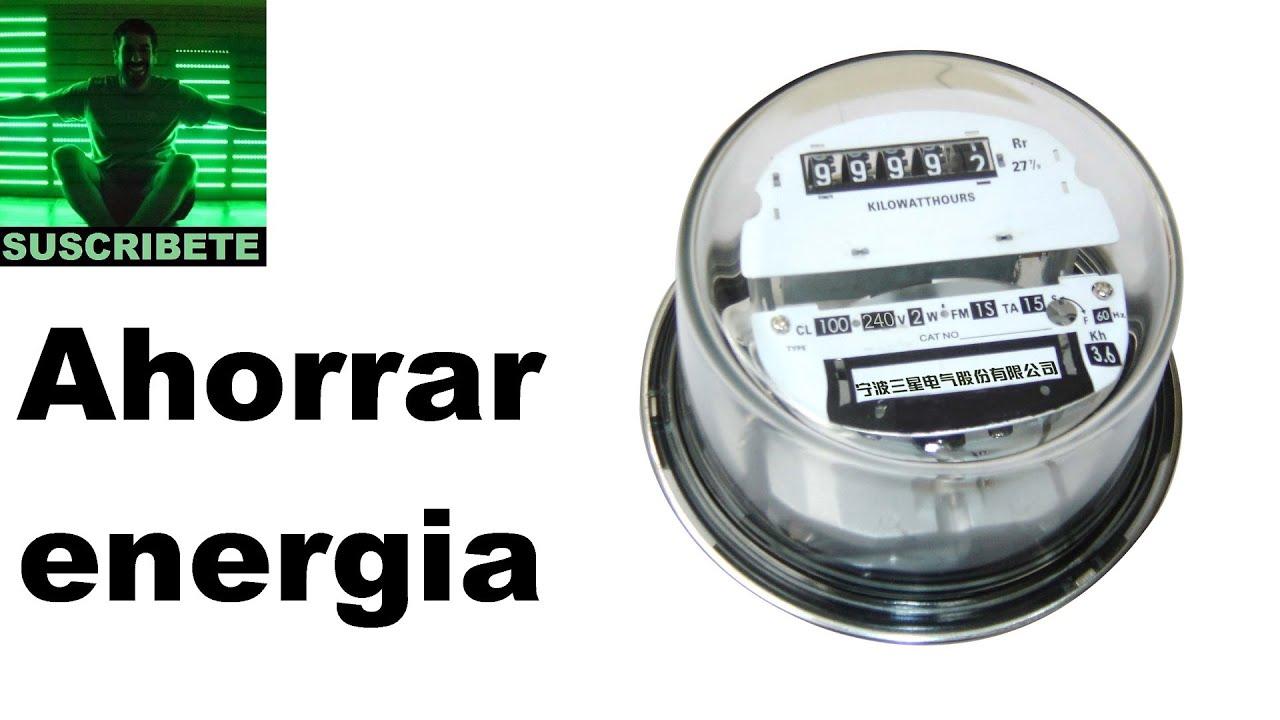 Como ahorrar en la factura de la luz y gas trucos para - Trucos ahorrar luz ...