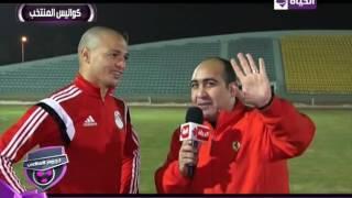 حمادة طلبة: الاجتهاد هو اللي بيخليك تفرق مع أي مدرب.. وباسم مرسي «هداف» (فيديو)
