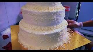 Кутизод: делаю трехэтажный свадебный торт