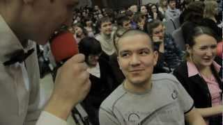 1/4 лиги КВН УдГУ. День первый.