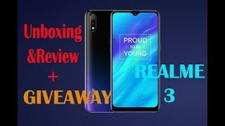 ✔️Realme 3 Unboxing&Review+giveaway✅ powerfull p70 processor✅