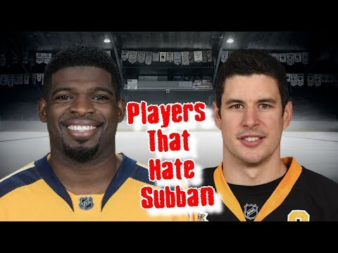 P.K. Subban/His Top 7 Haters