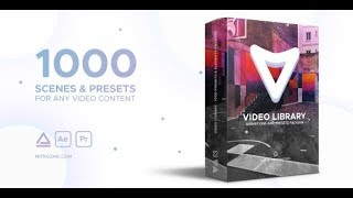 Video Library - Video Presets Package ( After Effects Template ) ★ AE Templates