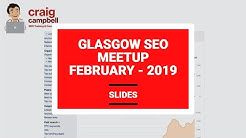 Glasgow SEO Meetup, Digital Marketing Meetups in Glasgow