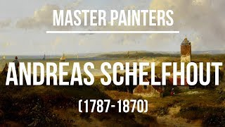 Andreas Schelfhout (1787-1870) A collection of paintings 4K Ultra HD