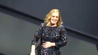Adele SSE Hydro Glasgow - Adele Sings Wrong Lyrics - Hello