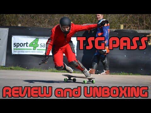 TSG Pass Downhill Longboard Fullface Helmet Review/Unboxing | Newton's Shred Longboard Shop