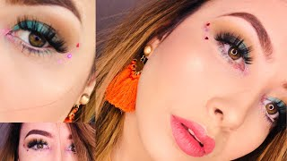 Summer and Spring makeup look 2018 | Jaclyn Hill Palette | Rabia Zarjan Khan