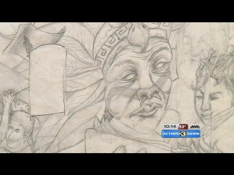 Local artists honor Mexican culture in South Omaha with mural