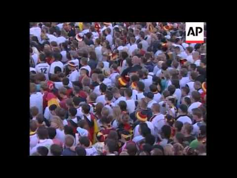 WRAP Fanzones in Spain, Germany and Austria during Euro football final