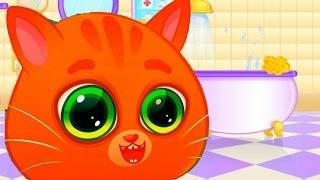 Мультфильмы для детей Котенок Буббу  Мой виртуальный питомец игра мультик