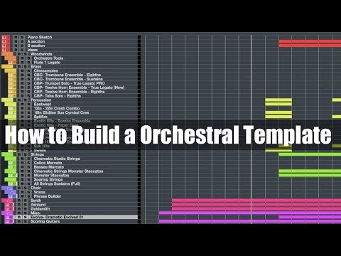 How to Build A Orchestral Template from Scratch in Cubase 9