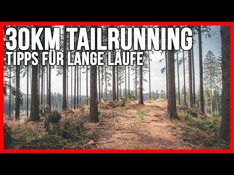 30km Trailrunning test | Tipps für lange Läufe und Trinkrucksack