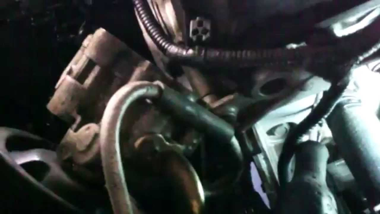thermostat replacement dodge magnum 2 7l v6 2006 install remove replace youtube [ 1280 x 720 Pixel ]