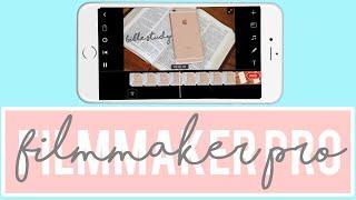 How to edit using Filmmaker Pro | Tech Videos | Kayla's World screenshot 4
