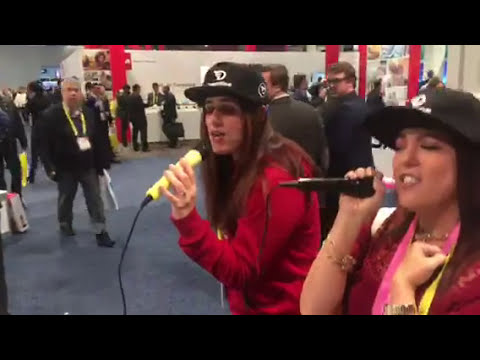 DOK Karaoke USA Demo At CES 2017 #CES2017