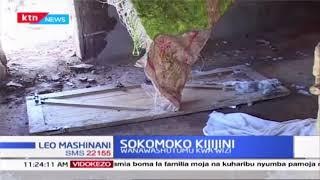 Wanakijiji watimua familia moja Kisii na kubomoa nyumba na kuharibu mimea