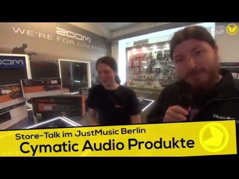 Music nStuff: Store-Talk über Cymatic Audio bei JustMusic Berlin