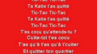 Boby Lapointe — Ta Katie t'as quitté