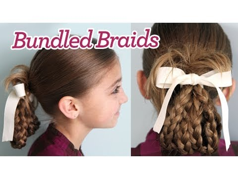 Bundled Braids | Cute Girls Hairstyles