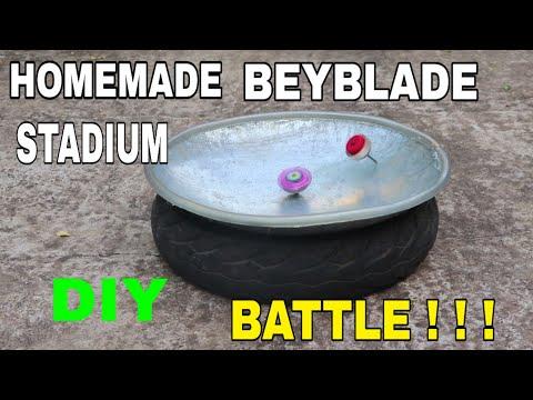 How To Make Beyblade Stadium Homemade | DIY Stadium | BEYBLADE Easy Homemade