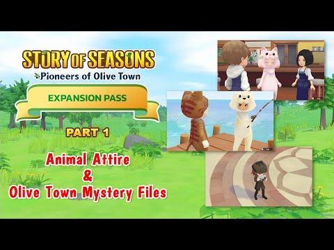 STORY OF SEASONS: Pioneers of Olive Town - Expansion Pass Pt.1