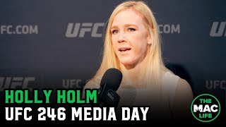 Holly Holm talks Conor McGregor meeting, Claressa Shields and her position in the UFC
