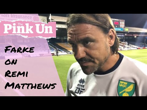 Norwich City: Daniel Farke on Tim Krul and what now for Remi Matthews