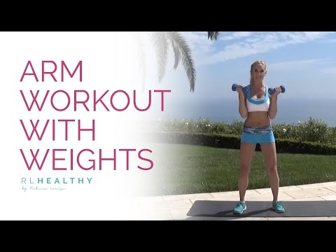 Arm Workout with Weights   Rebecca Louise
