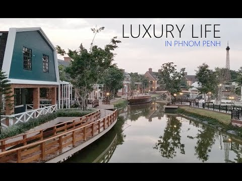 The wealthy life in Phnom Penh.