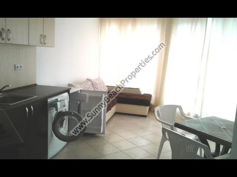 Mountain view furnished 1-bedroom apartment for sale in Admiral Plaza Sunny beach Bulgaria