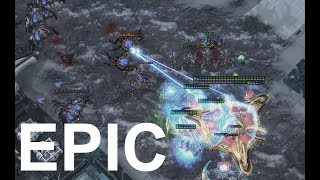 EPIC - pucK (P) v JonSnow (Z) on Para Site - StarCraft 2 - Legacy of the Void 2018