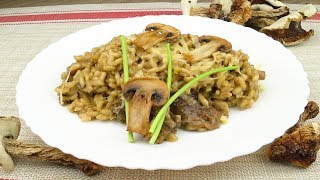 Ризотто  с белыми грибами | Porcini мushroom risotto