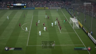 Serie a game of the  week. lazio v roma,live ,fifa