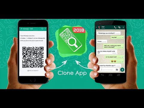 Clone Appweb : 1 WhatsApp account on 2 Devices