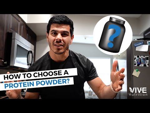 Ask the Dietitian: HOW to choose a PROTEIN powder?
